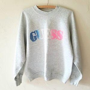 Light Gray Pullover Sweatshirt